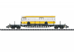 Minitrix 15861 DB Rs684 Bogie Flat Wagon with Bus Load IV